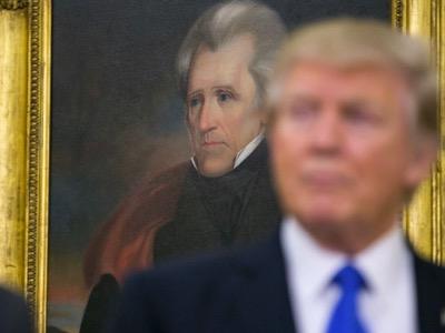 Trump mit Jackson Bild