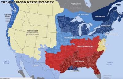 USA rivalisierende Staaten Voltaierenet